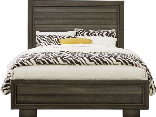 River Street Graphite 3 Pc Queen Panel Bed