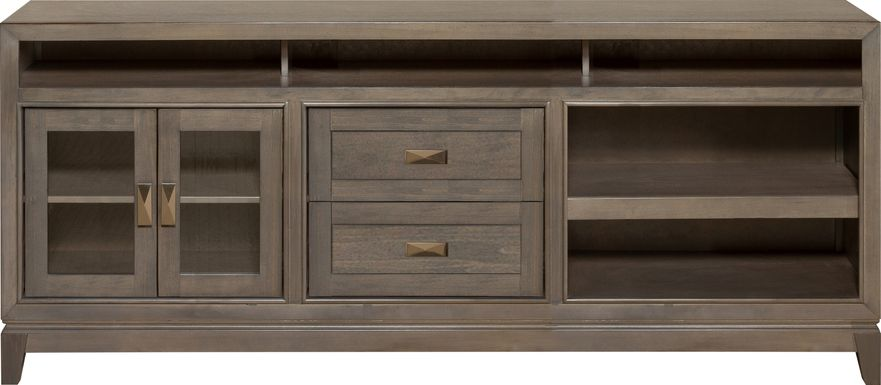 River Terrace Gray 82 in. Console