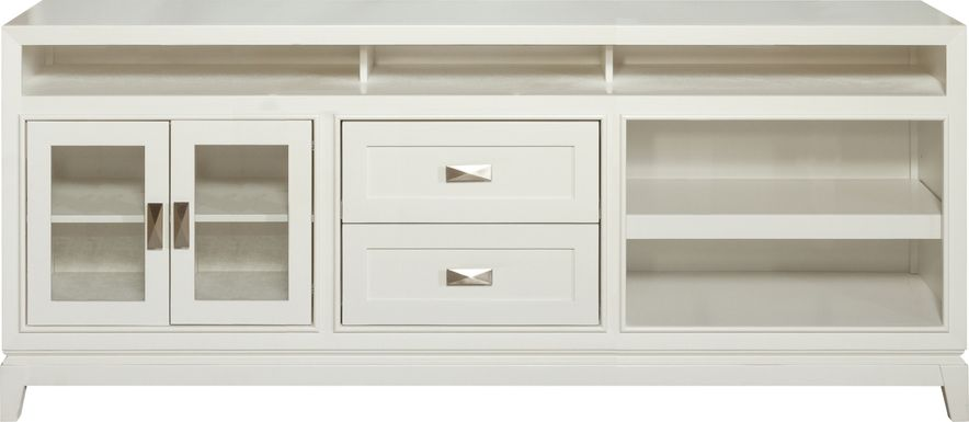 River Terrace Off-White 82 in. Console