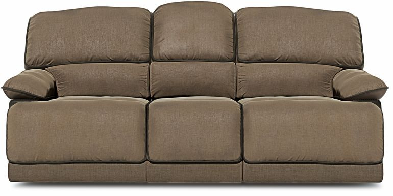 Riverbrook Coffee Power Reclining Sofa