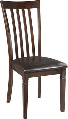 Riverdale Cherry Slat Back Side Chair
