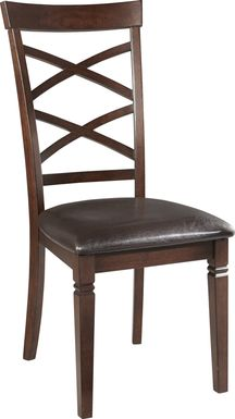 Riverdale Cherry X-Back Side Chair
