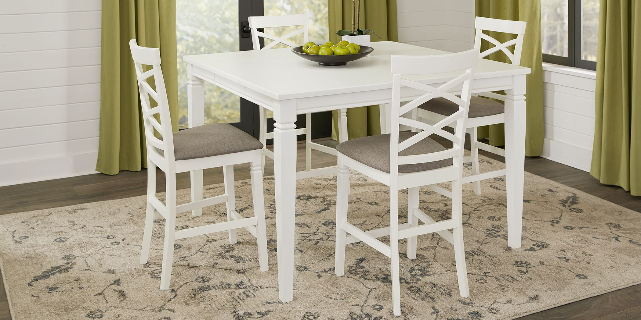 White Dining Room Table Sets