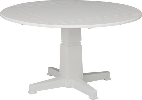 Riverdale White Round Dining Table