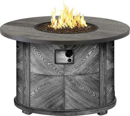 Riverfront Gray Outdoor Fire Pit