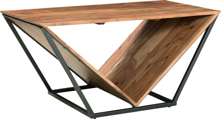 Riverlon Brown Cocktail Table