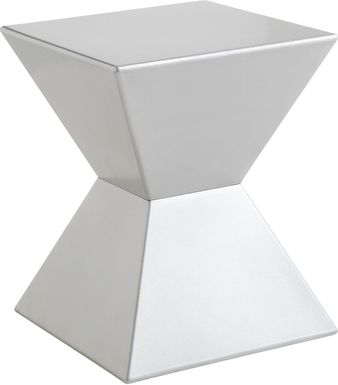Rocco Silver End Table