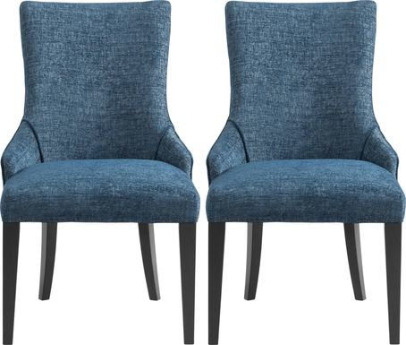 Rockmont Blue Dining Chair (Set of 2)