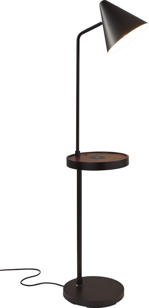 Rodkey Black Floor Lamp