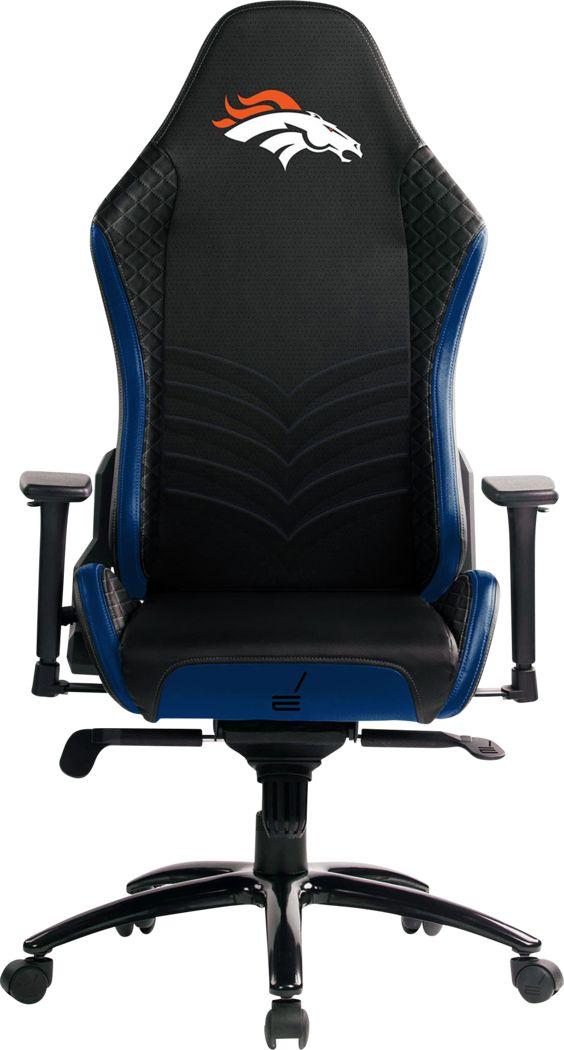 Roguelike NFL Denver Broncos Blue Gaming Chair