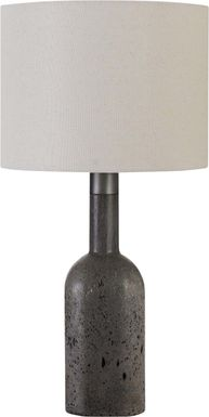 Rolling Way Gray Lamp