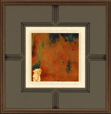 Romine IV Brown Artwork