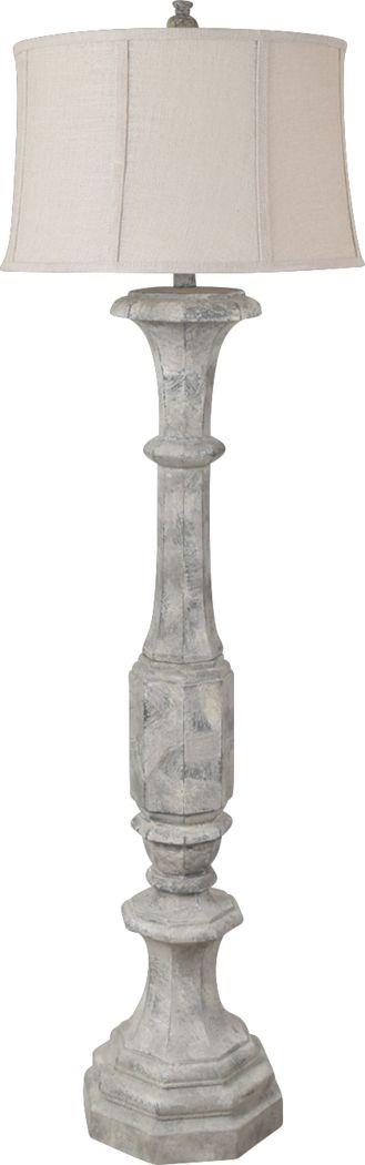 Rosefield Gray Floor Lamp