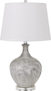 Rosemore Court Gray Lamp