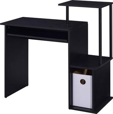 Roseny Black Desk