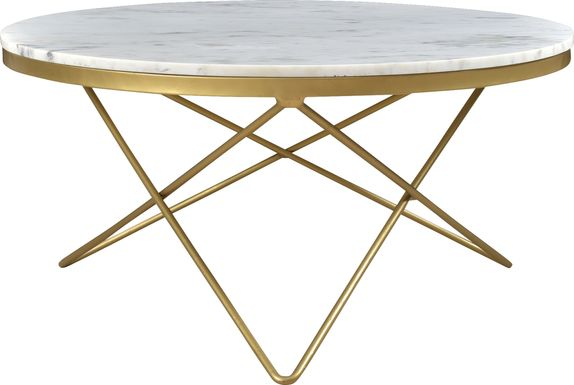 Rosier White Cocktail Table