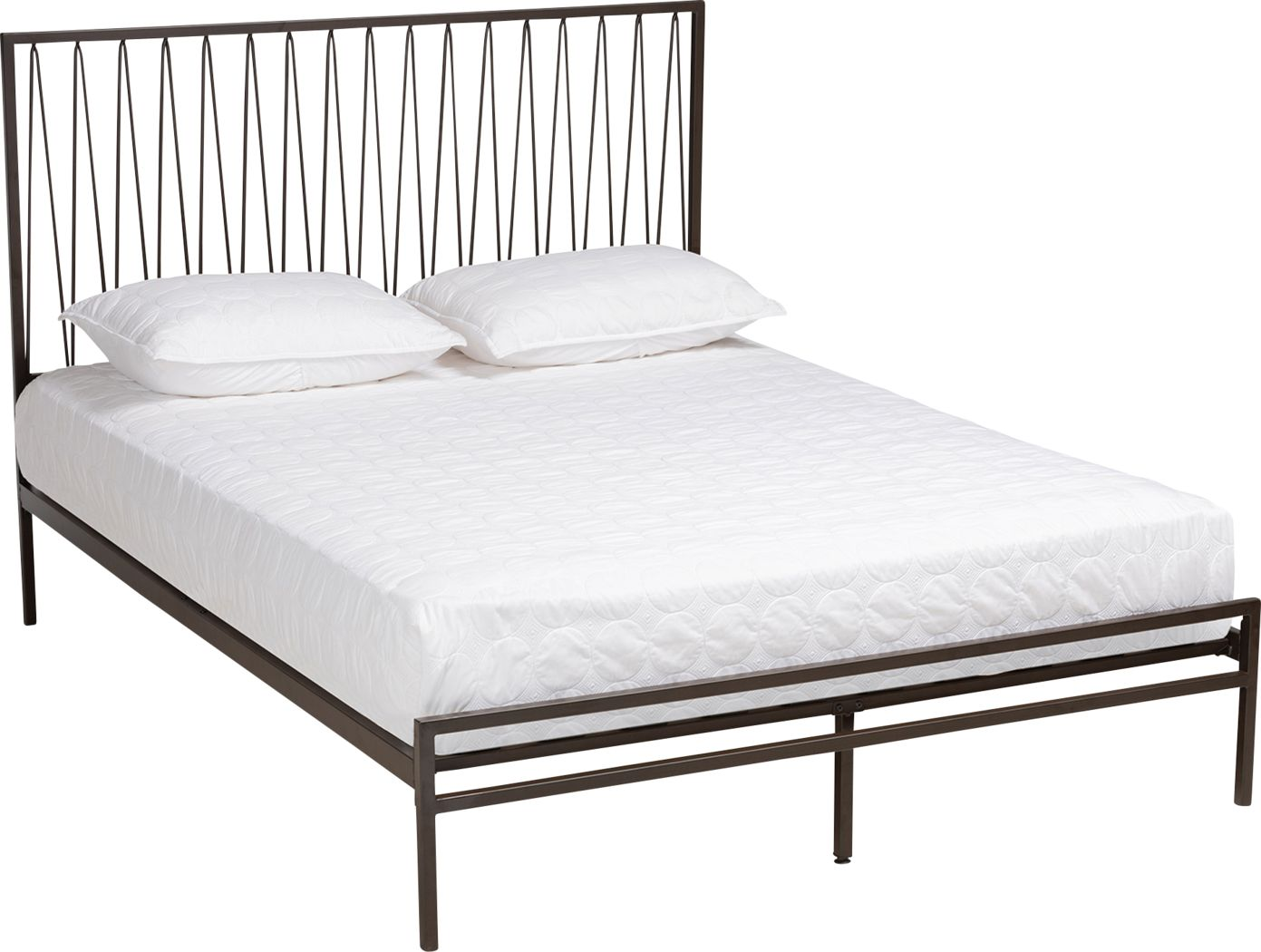 Rowesville Black Queen Bed