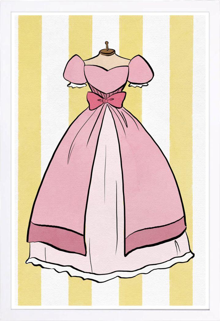 Royalty Dress Pink Artwork