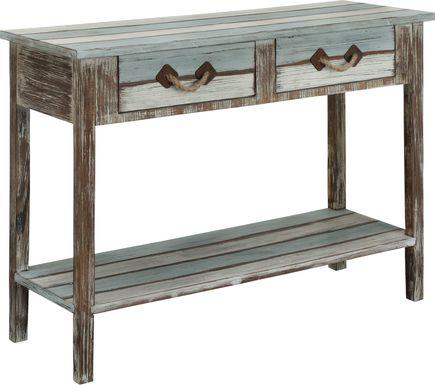 Royalview Blue Sofa Table