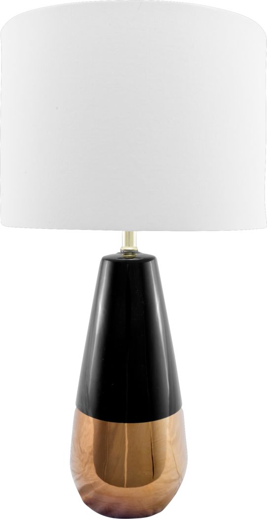 Royalwood Gold Lamp