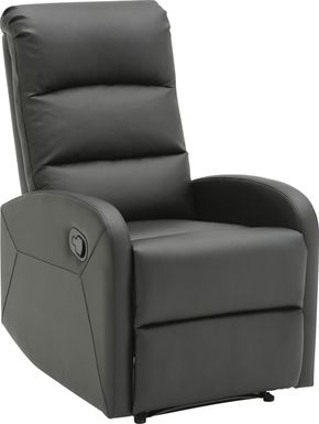 Royervista Black Recliner