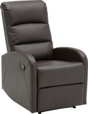 Royervista Brown Recliner