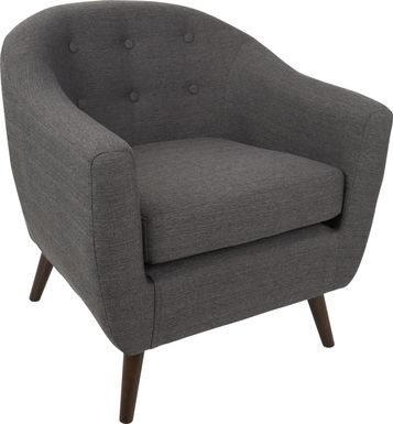 Rozelle Gray Accent Chair