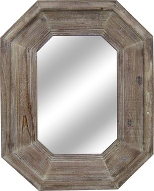 Ruidosa Brown Mirror