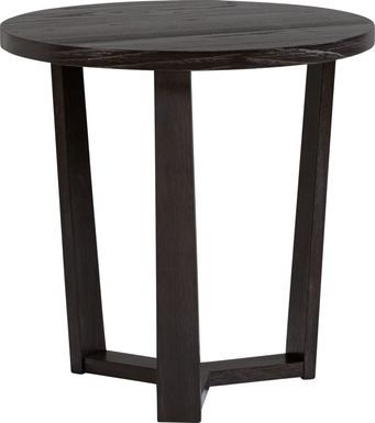Rumie Dark Brown End Table