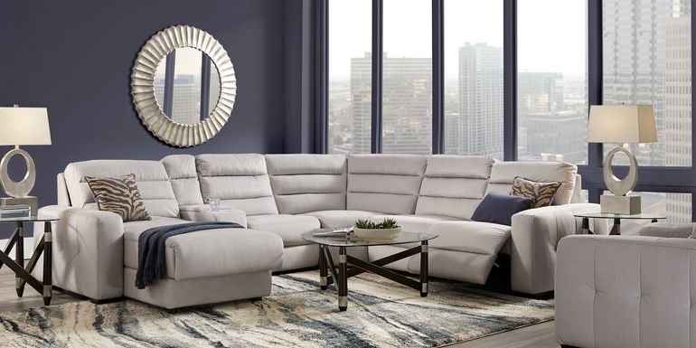 Runyon Canyon Platinum 6 Pc Power Reclining Sectional