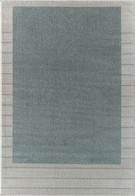 Rusheel Green 5' x 7' Rug