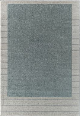 Rusheel Green 5' x 7' Rug