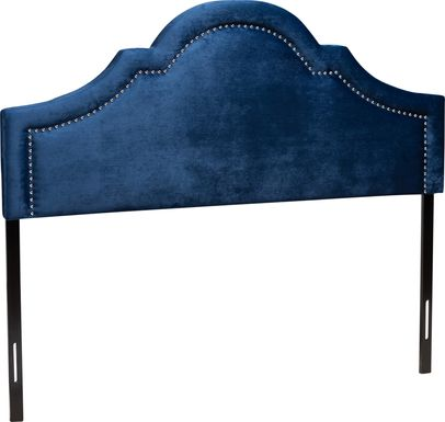 Rusling Navy Queen Headboard