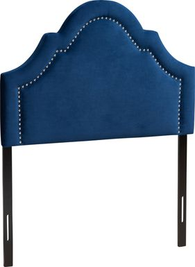 Rusling Navy Twin Headboard
