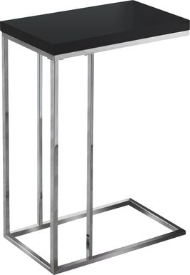 Russleo Black Accent Table