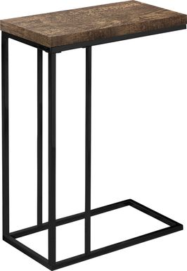 Russleo Brown Accent Table