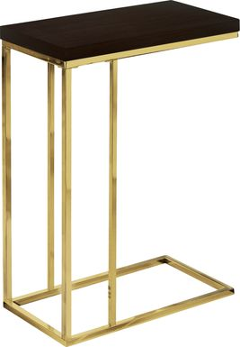 Russleo Cappuccino Accent Table