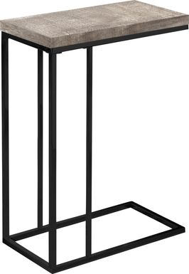 Russleo Taupe Accent Table