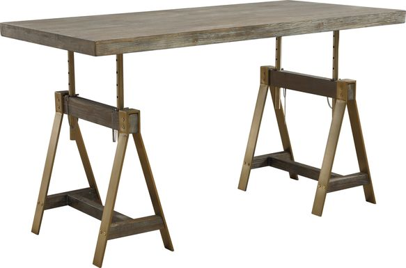 Rustic Goldie Brown Desk