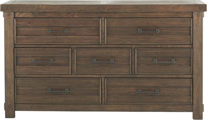 Rustic Haven Tobacco Dresser