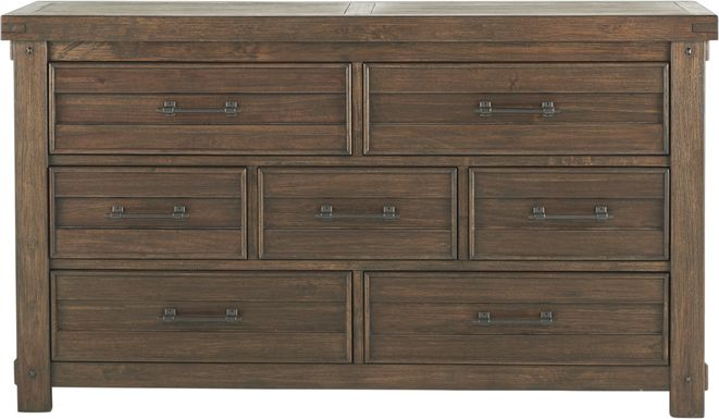Rustic Haven Tobacco Dresser