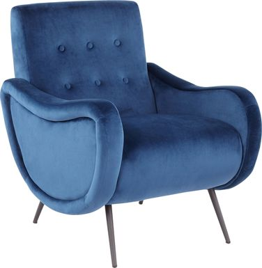 Rutherton Blue Accent Chair