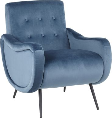 Rutherton Teal Accent Chair