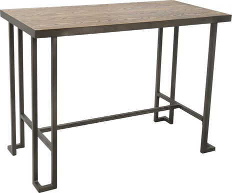 Rutland Brown Counter Height Table