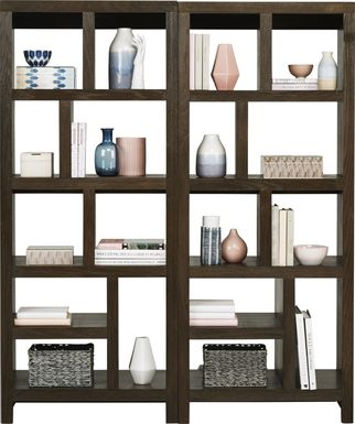 Ryder II Brown 2 Pc Room Divider
