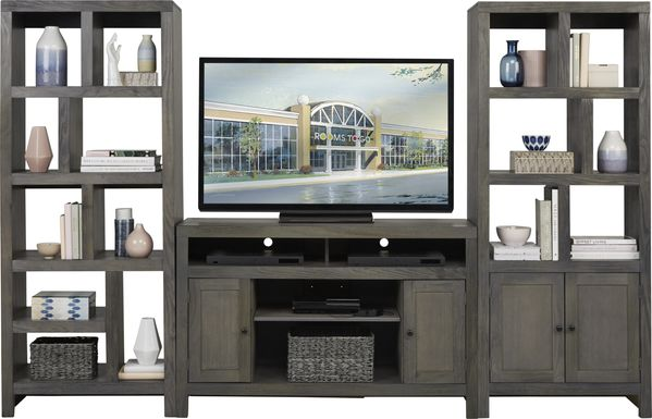 Ryder II Gray 3 Pc Wall Unit