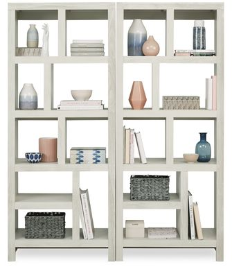 Ryder II White 2 Pc Room Divider