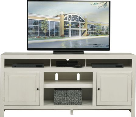 Ryder II White 72 in. Console