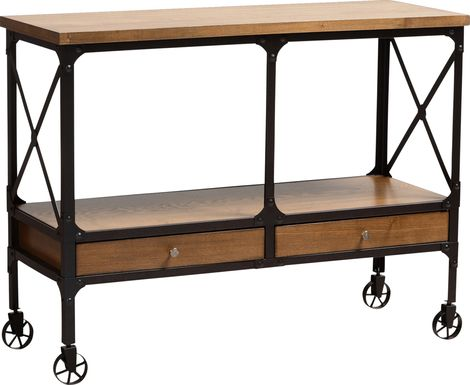 Ryrie Brown Bar Cart