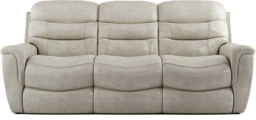 Sabella Stone Leather Power Reclining Sofa